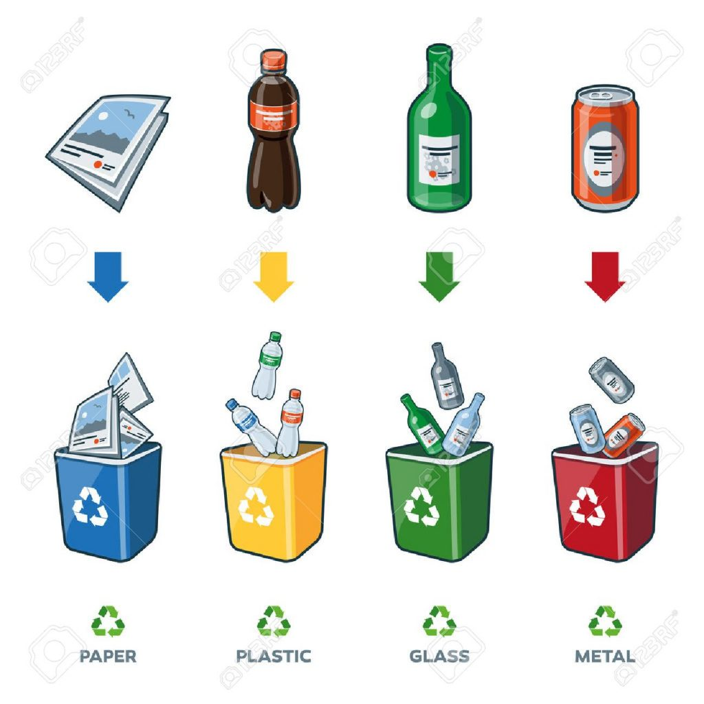 32996338-four-recycling-bins-illustration-with-paper-plastic-glass-and-metal-separation-1024×1024